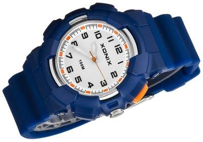 SUPER Zegarek Dziecięcy XONIX WR100m PREZENT Etui