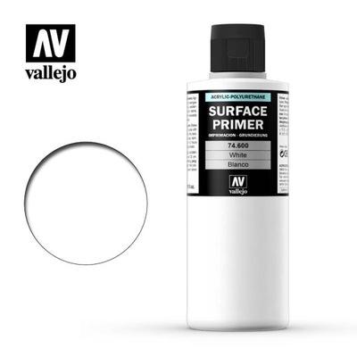 Vallejo 74600 Surface Primer 200 ml. White podkład