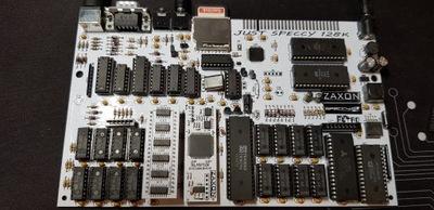 Just Speccy 128 , klon ZX Spectrum 128