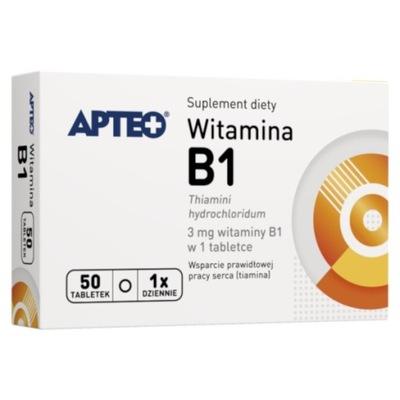 WITAMINA B1 x 50TABL. APTEO / SYNOPTIS
