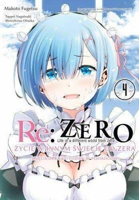 Manga Re: Zero Księga 2 Tydzień w posiadłości Tom4