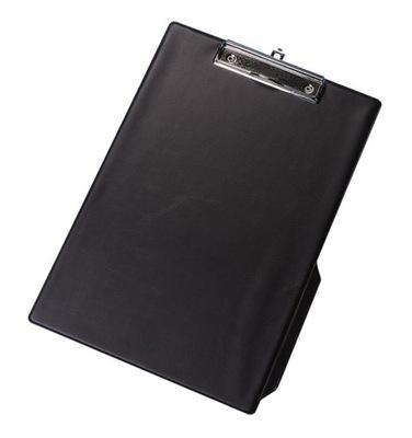 deska z klipsem PVC A4 czarny podkład z klipem