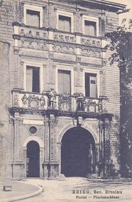 Берег Brieg замок Пястовский 0384