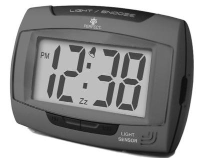 Elektroniczny Zegarek Budzik Na Baterie PERFECT