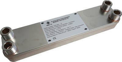 """20kW 12-doskový výmenník tepla 4x 3/4 """"NT"""