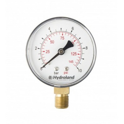 Manometer 63 1/4 2,5 bar bottom Radial