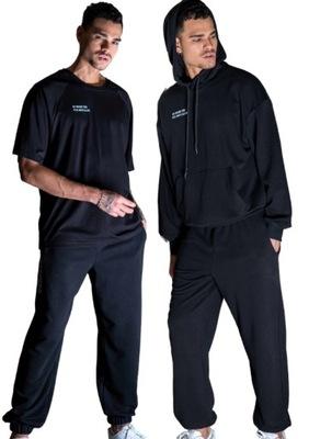 Komplet DRES męski trzyczęściowy bluza szorty S/M