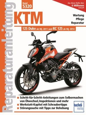 KTM 125 DUKE RC125 (2011-2021) ИНСТРУКЦИЯ РЕМОНТА