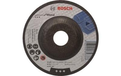 TARCZA DO SZLIFOWANIA METALU BOSCH 125x6,0