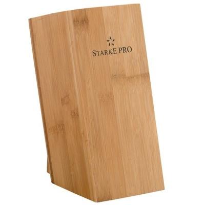 Стенд ножи из древесины бамбукового Starke Pro