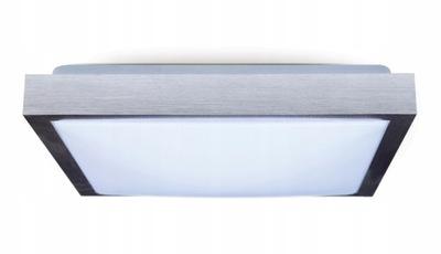 Lampa sufitowa plafon LED 24W kwadrat neutralny