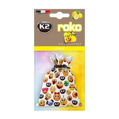 Zapach K2 Roko Happy Lemon woreczek cytrynowy