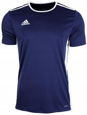 Adidas Koszulka Sportowa Męska Entrada Granat S