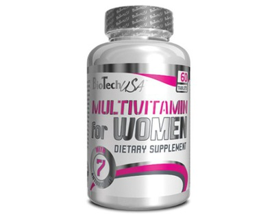 BIOTECH MULTIVITAMIN FOR WOMEN 60 tab. WITAMINY