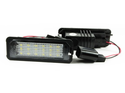 ЛАМПОЧКИ ТАБЛИЦЫ LED (СВЕТОДИОД ) DO VW PASSAT B6 B7 CC GOLF POLO