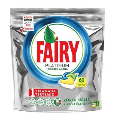 Fairy Platinum tabletki do zmywarki LEMON 60 szt