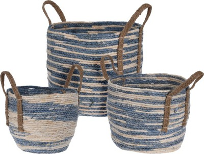 Корзина плетеный ?? морской травы оболочка-контейнер 23