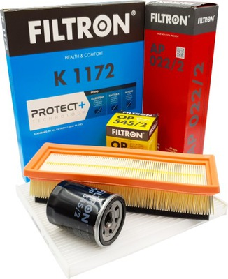 FILTRON ZESTAW FILTRÓW FIAT PUNTO 1.2 1.4