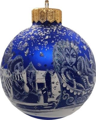Традиционная стекло  новогоднее представление - 7285