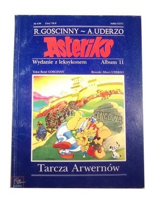 ASTERIKS TARCZA ARWERNÓW 99 r. wyd. z leksykonem