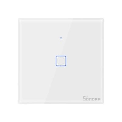 Sonoff Instagram Выключатель Wi-fi + RF T1EU1C-TX