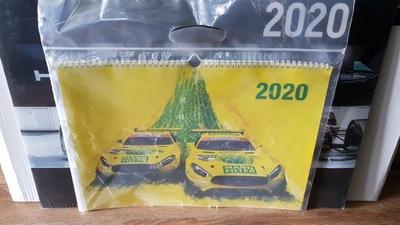 AMG Kalendarz archiwalny z 2020 Nowy! 42cm x 30cm