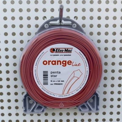 Żyłka tnąca Oleo-Mac PENTA 3,0mm-60m