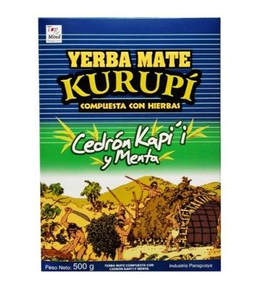 Yerba Mate Kurupi Кедрон Капи'и y Menta 500?