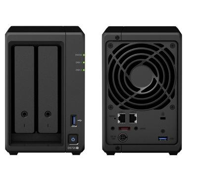Serwer plików Synology DS720+ Plus DDR4 6GB RAM