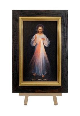 Картина НА ХОЛСТЕ ИИСУС МИЛОСЕРДНЫЙ ВИЛЬНЮССКИЙ 23x33