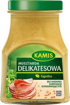 KAMIS Горчица деликатесная 185g