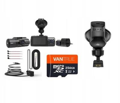 VANTRUE N4 ПЕРЕД ЗАД САЛОН +256GB + ACC + GPS