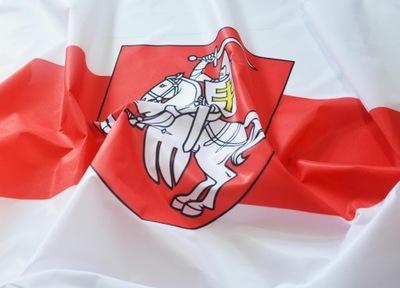 Флаг Беларуси историческая Оппозиция Погоня 100x60