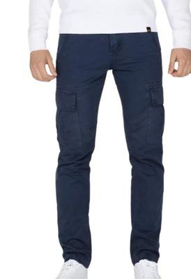 Spodnie Alpha Industries AGENT 07 rep.blue 36