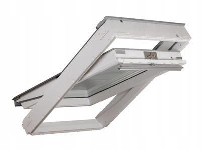 Окно VELUX GLU 0061 78x140 белое Три ствола MK08