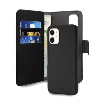 Wallet Detachable - Etui 2w1 iPhone 11 (czarny)