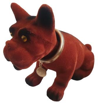 Pies piesek z kiwającą głową AZOR 125 126p PRL