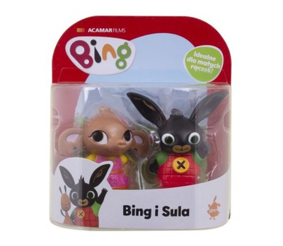 Nastaviť Minifigures Bing a Sula Príbeh Figúrka Králik