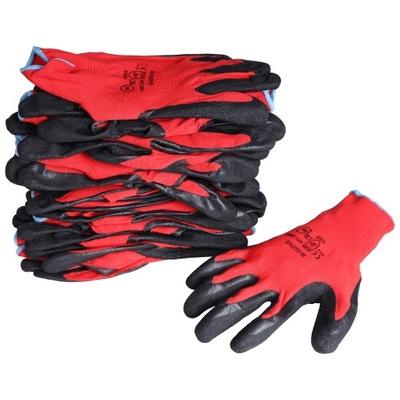 10 ПАР перчатки перчатки рабочие LATEX разм. 10