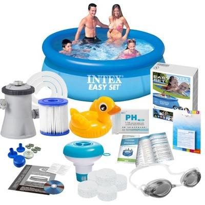 INTEX Bazén 244x76 Nastaviť MAX 16w1 28110