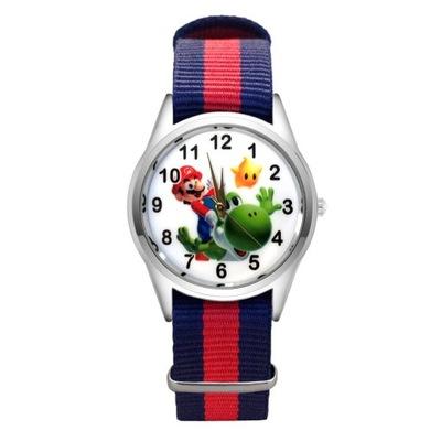 Zegarek dziecięcy Super Mario Nintendo Sonic