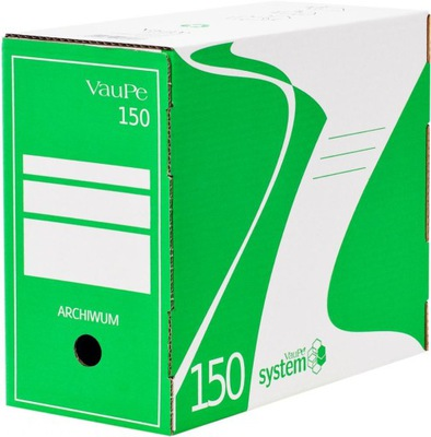 Pudło archiwizacyjne VauPe 150mm zielony