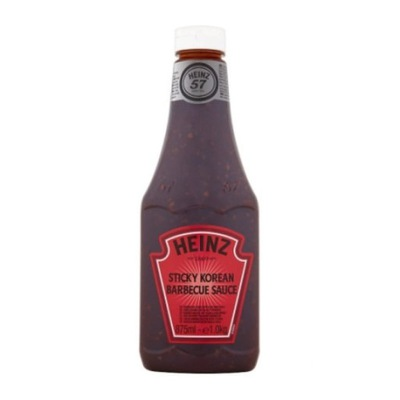 HEINZ SOS STICKY KOREAN BARBECUE BBQ SAUCE 875ML