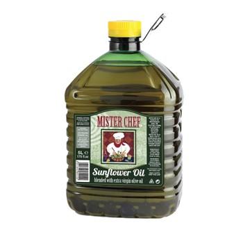 Oliwa extra vergine + olej słonecznikowy 5L
