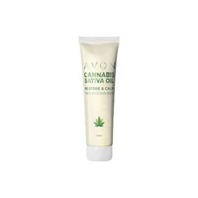 AVON Cannabis Kojący balsam do rąk i ciała 150ml