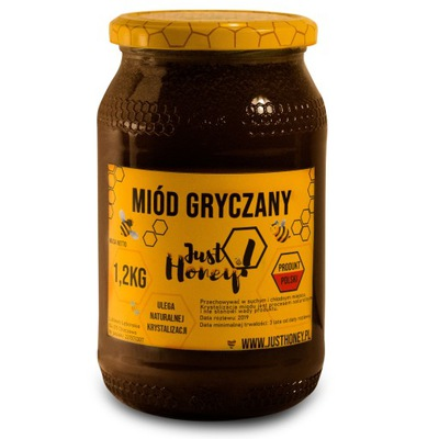 Мед гречка nektarowy 100 % натуральный 1 ,2кг