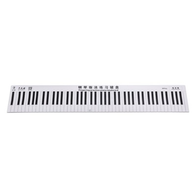 Klawiatura do ćwiczenia palcowania fortepianu 88