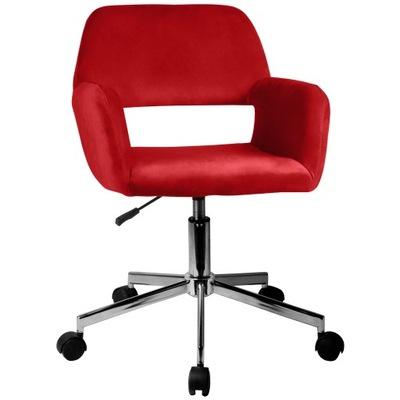 Кресло ?????????? DZIECĘCY велюр FD-22 красный