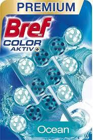 BREF COLOR AKTIV+ OCEAN 3 X 50 G ZAWIESZKA DO WC