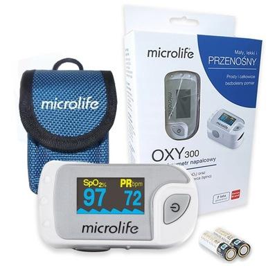 Pulsoksymetr napalcowy Microlife OXY 300